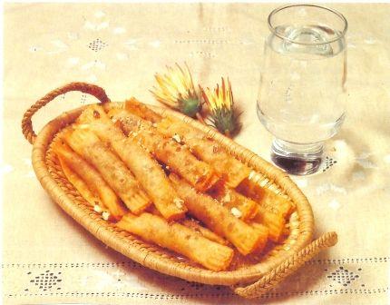 Monday's Greek Recipe - Bourekia and Daktyla - Anastasia