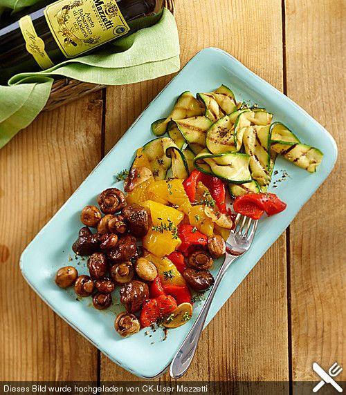 Antipasti-Platte  Rezept  Rezepte, Lebensmittel essen