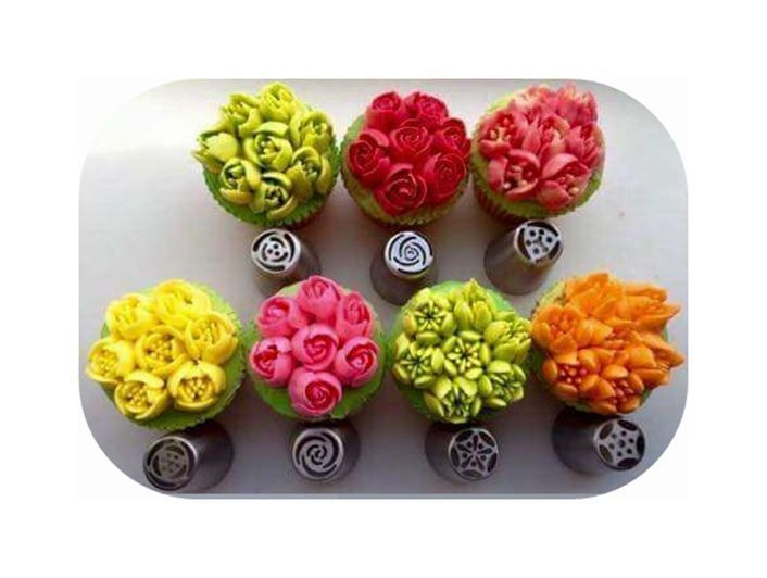 Details about DIY 7PCS Russian Icing Piping Nozzles Pastry ...