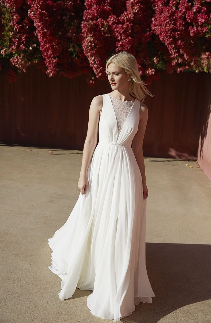 b84dab360c The Fallon gown, part of our 'Jenny by Jenny Yoo' Bridal Collection ...