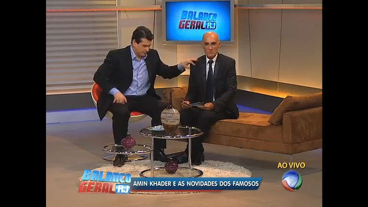 Balanço Geral recebe Amin Khader, que conta as novidades dos famosos - Vídeos - R7