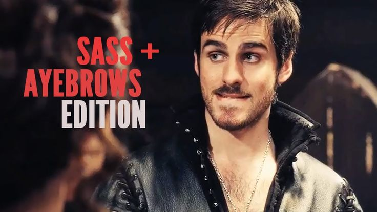 (OUAT) Hook & Peter | Sass + Ayebrows Edition. could do without pan... still hillarious:D
