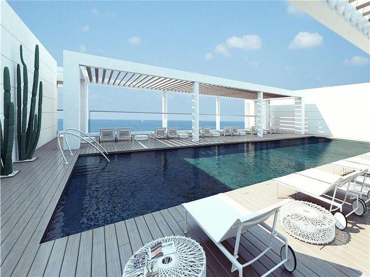 Rooftop Pool at The Ritz-Carlton, Herzliya, Israel