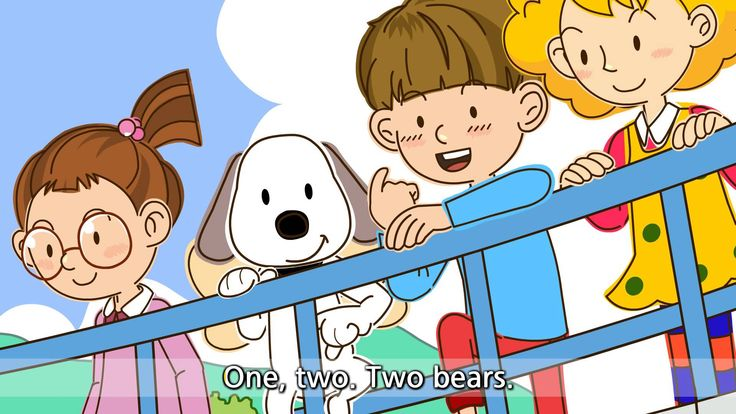 How many bears? - Three bears. (Easy Dialogue) - English video for Kids ...