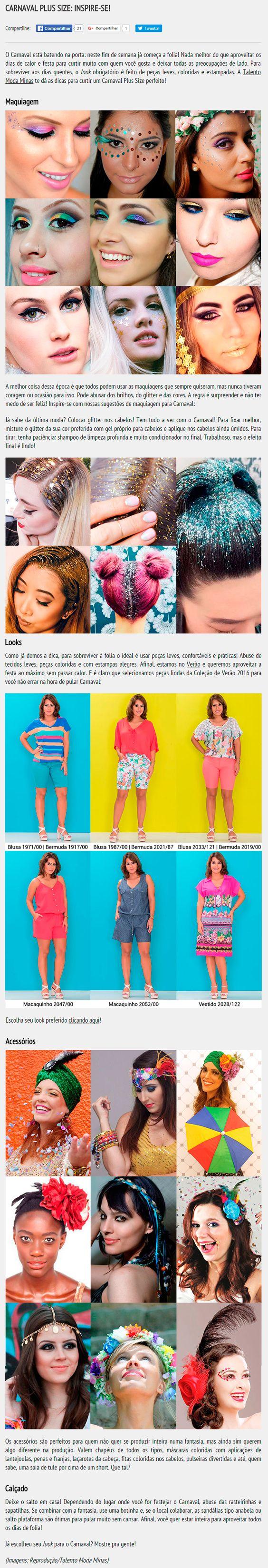 Criação de conteúdo para blog de moda plus size