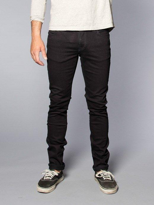 339d60a954db Skinny Lin Black Black - Nudie Jeans Online Shop  MensJeans Nudie Jeans