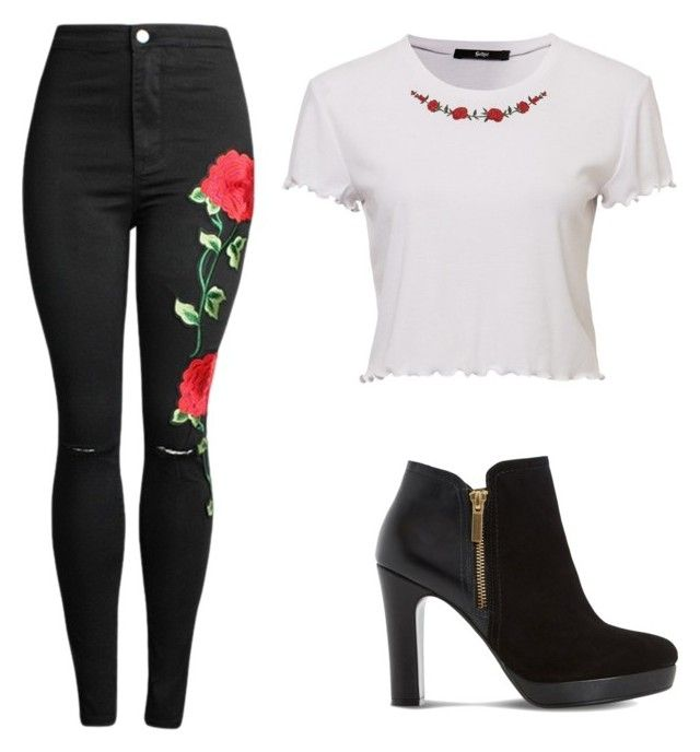 """Casual"" by juanaguzman on Polyvore featuring Dune"