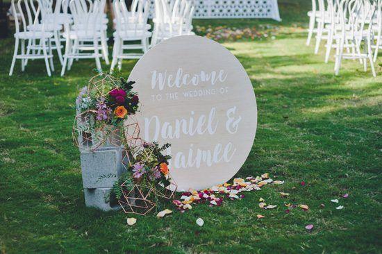 Jaimee & Daniel's Industrial Glamour Wedding