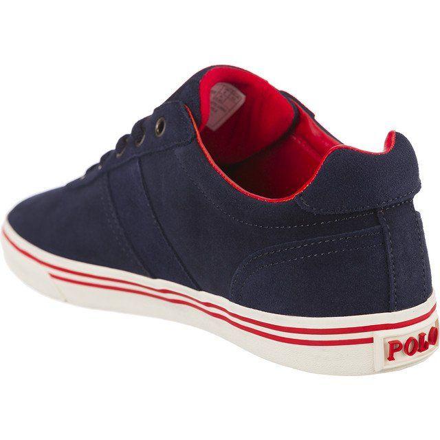 Trampki Meskie Poloralphlauren Polo Ralph Lauren Niebieskie Hanford 816641859004 Polo Ralph Lauren Sneakers Ralph Lauren