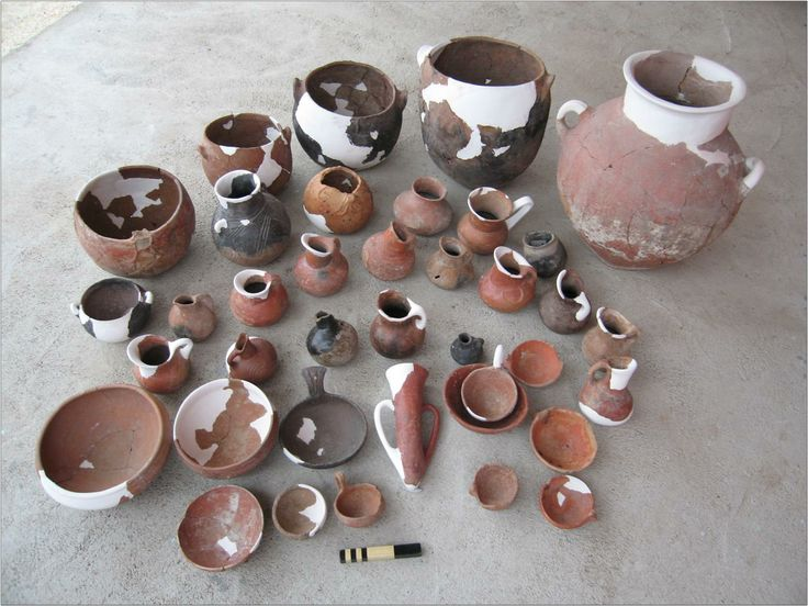 Küllüoba - University of New England (UNE) Fig. 4: Pottery found in 2006