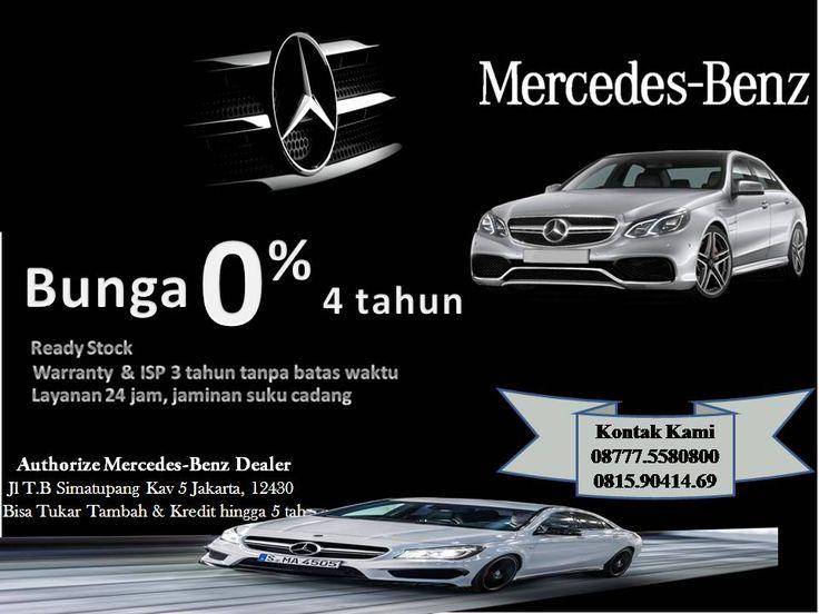 Mercedes-Benz Bunga 0% hingga 4 tahun | Kurir Iklan