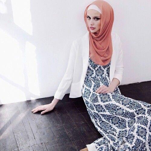 The print on this dress!! #hijab