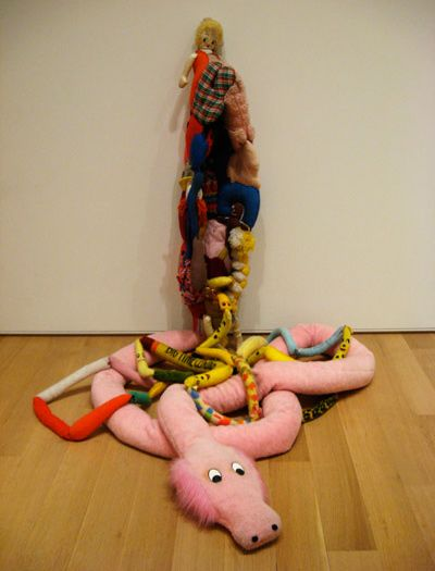 Mike Kelley - 'Eviscerated corpse'