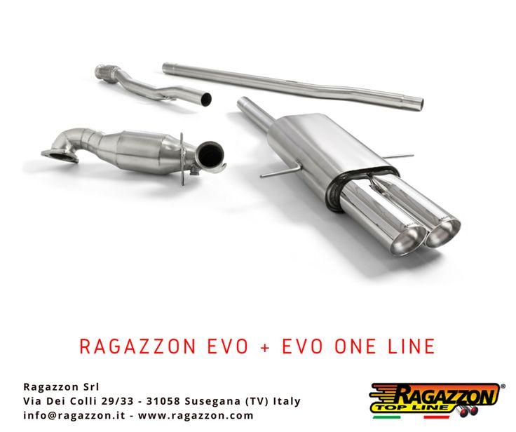 Ragazzon Evo Line + Evo One Line sport exhaust. #Ragazzon #Tuning #CarTuning