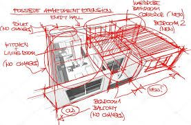 Risultati immagini per dettaglio architettonico schizzo