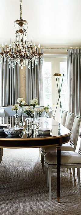 Interior Designer Suzanne Kasler | Dining Room Design Ideas