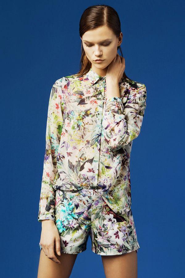 Zara lookbook mars 2012