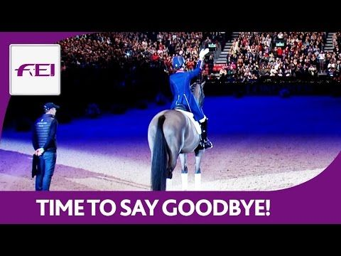 Valegro' very last performance and farewell ceremony 2016 the horse that did it all!  YouTube 27 min