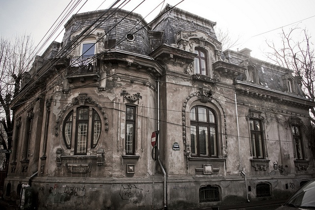 Romulus Porescu House (1905) by Dominuz, via Flickr