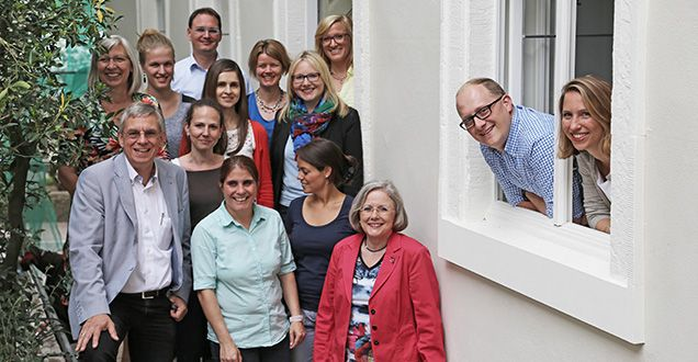 Das Team der Wirtschaftsförderung (Foto: Marijke Domscheit)