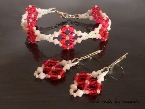 Simira - Be My Valentine - náramek - koralek