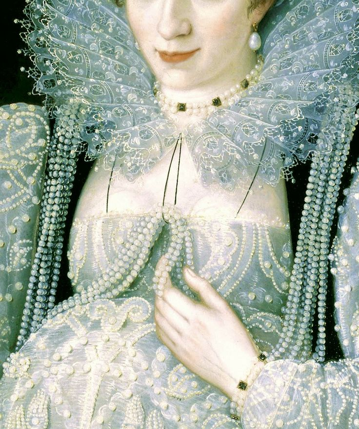 Portrait of an Unknown Lady (c. 1595),Marcus Gheeraerts