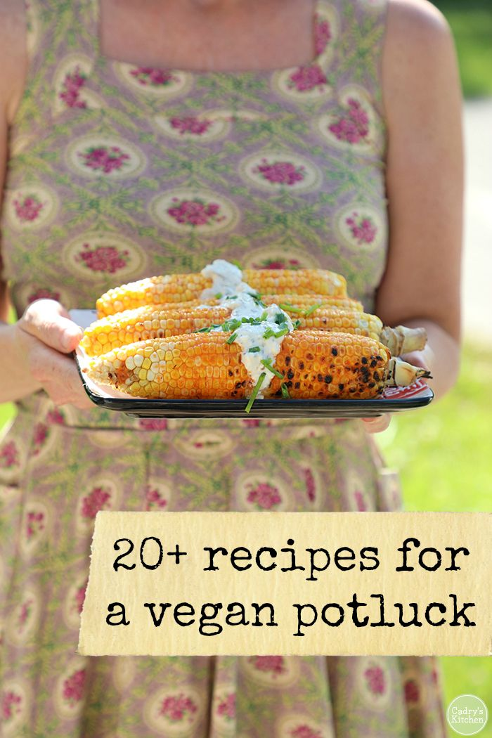 20 Recipes For Your Vegan Potluck Picnic Or Cookout