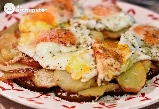 Esta receta incorpora ingredientes muy sencillos, su base es todo un clásico de la cocina, huevos y patatas