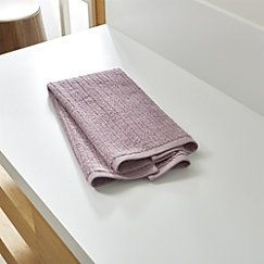 View larger image of Ribbed Purple Hand Towel
