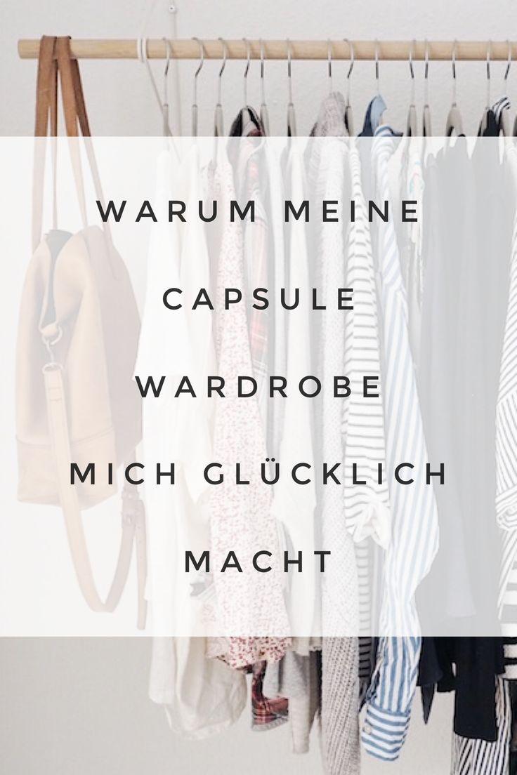 Ich lebe mit nur 35 Kleidungsstücken und das macht mich verdammt glücklich. Wieso, liest du hier. #capsule #wardrobe #minimalismus