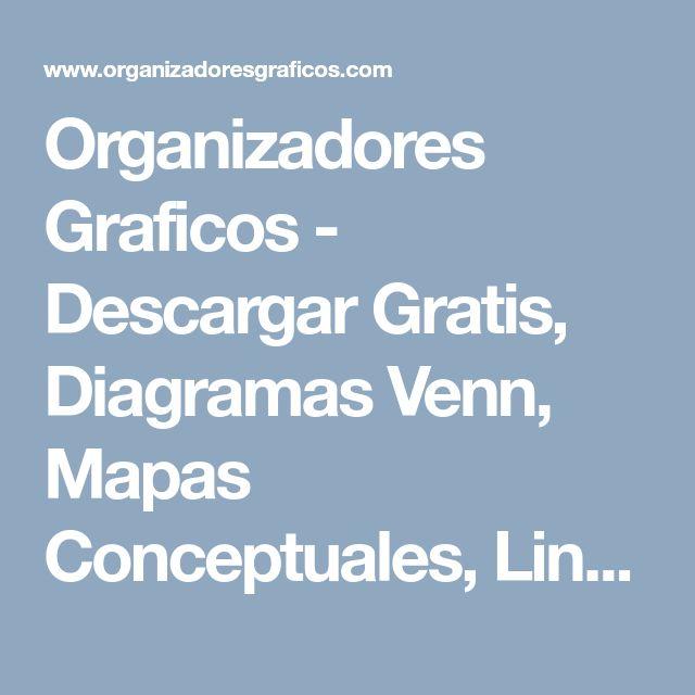 Organizadores Graficos - Descargar Gratis, Diagramas Venn, Mapas Conceptuales, Lineas de Tiempo, Mentefactos...