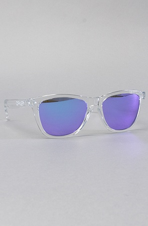 OAKLEY The Oakley Frogskin Sunglasses in Polished Clear with Violet Frogskin : Karmaloop.com - Global Concrete Culture