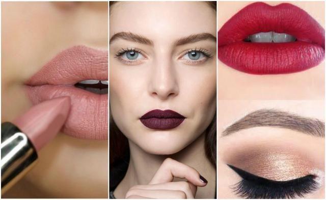 Kolejna inspiracja.  Tej zimy modne są matowe kolory ust. Jaki kolor szminki jest Waszym ulubionym?