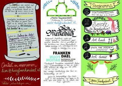 Partial program 2013, design Juliartistique.com