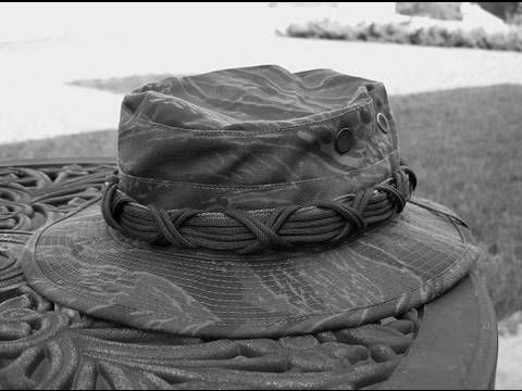 Adding Paracord to a Boonie Hat