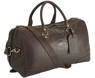 Original Gift Company Wide Mouth Leather Holdall with Personalised Make packing and unpacking a pleasure, whether away for business or a holiday. Made from the finest prime hide leather, this weekend bag is a stylish accessory for any traveller. Hand rubbed to give a http://www.MightGet.com/february-2017-2/original-gift-company-wide-mouth-leather-holdall-with-personalised.asp
