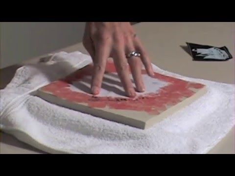 Combining Homemade Underglaze Transfers With Paper Stencils for a Layered Effect - ERIN FURIMSKY - YouTube