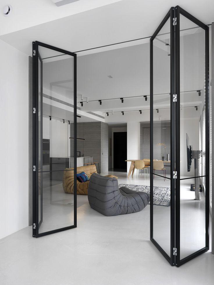Chiang House / 2BOOKS design / Idea cerramiento cocina!!!!!