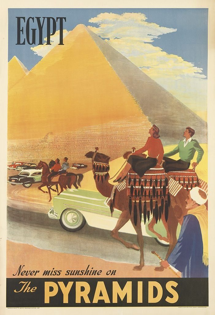 Egypt.....vintage travel poster