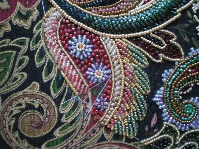 Threads Across the Web: Japanese Bead Embroidery
