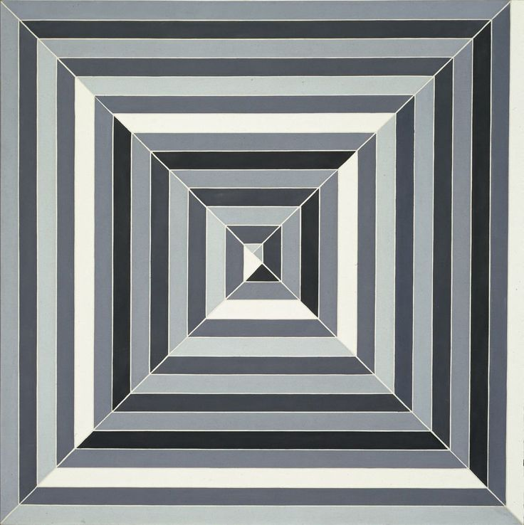 90 best images about minimalism on pinterest donald o for Minimal art frank stella