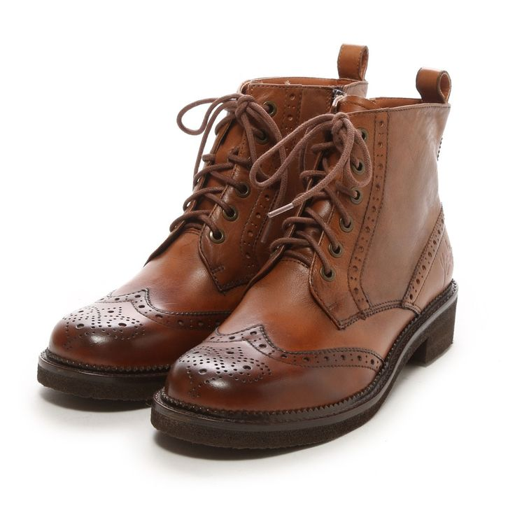 ヨースケ YOSUKE 編み上げショートブーツ(キャメル) -「買ってから選ぶ。」靴とファッションの通販サイト ロコンド