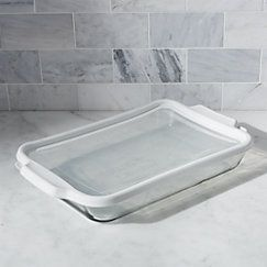 View larger image of Glass Bake and Store Rectangular Casserole Dish