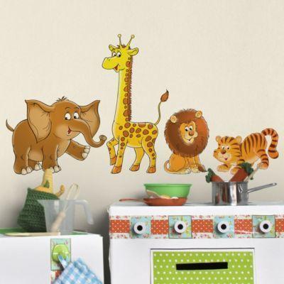Wandtattoo Tiger Löwe Elefant Giraffe No.68 Safari Set Jetzt bestellen unter: https://moebel.ladendirekt.de/dekoration/wandtattoos/wandtattoos/?uid=e52916db-5710-559e-b015-84026d2b154e&utm_source=pinterest&utm_medium=pin&utm_campaign=boards #tattoos #tapeten #farben #dekoration