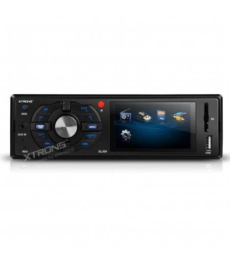 """Renueva la radio de tu coche con esta Radio DVD Xtrons 1Din con USB SD y pantalla de 3"""" que reproduce MP3, DVD, Divx, AVI, MPEG, MPG, JPG, JPEG...Consíguelo a un precio increíble y en tan sólo 24 horas aquí"""