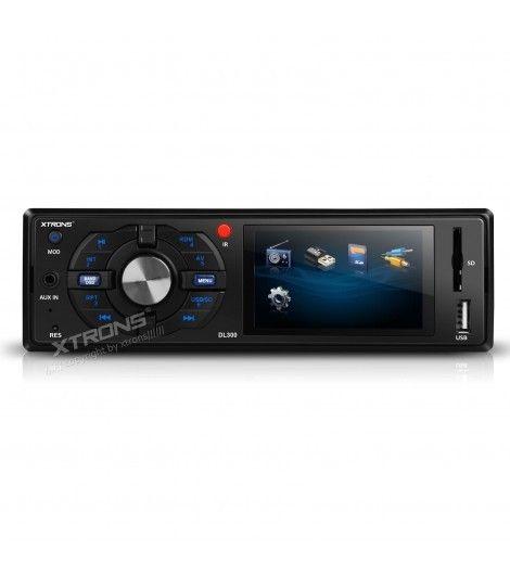 """Hoy en Carmultimediazone.com queremos recomendaros nuestra #Radio #DVD #Xtrons 1Din con USB SD y pantalla de 3"""" a un precio increíble!! Radio AM/FM, Tamaño 1Din universal, 4x45w, LCD 3"""" HD 800*480 16:9 720p, Reproductor de música y videos a través de USB y SD...  Reproduce MP3,DVD,Divx,AVI,MPEG,MPG,JPG,JPEG... Salida de Video por RCA para conectar otras pantallas o una cámara de parking...TODA la INFO haciendo click aquí"""