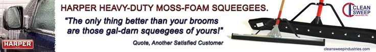 Best Floor Squeegees - Harper Industrial Heavy Duty Moss-Foam