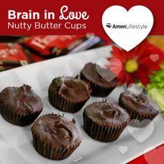 Brain-in-Love-Nutty-Butter-Cups From Dr. Daniel Amen