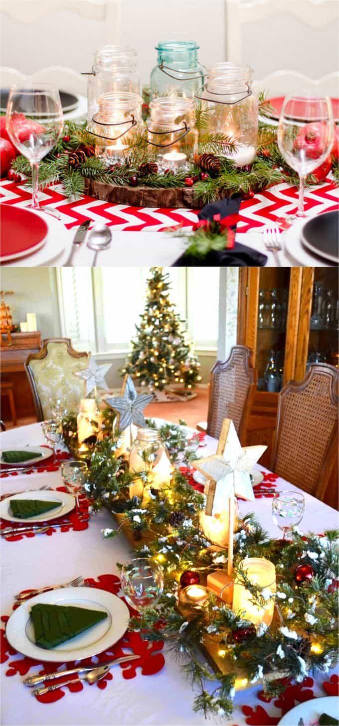 27 Gorgeous Diy Thanksgiving Christmas Table Decorations Centerpieces Christmas Table Decorations Centerpiece Christmas Table Centerpieces Christmas Table Decorations Diy