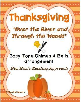 *** THANKSGIVING SPECIAL $3.00 *** This product includes the following materials: • Lesson Plan, Objectives, Procedures • Musical arrangement used for this piece • Sheet with lyrics and rhythms • Individual printable sheets for each assigned chime or